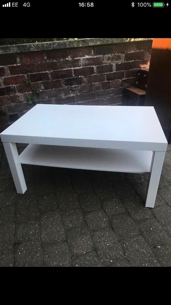 Awe Inspiring Ikea Lack White Tv Stand Or Coffee Table In Carlton In Lindrick Nottinghamshire Gumtree Gamerscity Chair Design For Home Gamerscityorg