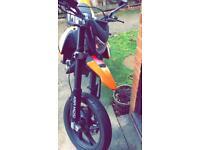 KSR TW125CC Motorbike