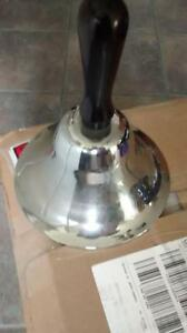 Old hand held school bell