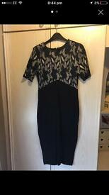 Navy AX Paris dress size 8/10