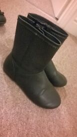 Girls boots size 12 as new