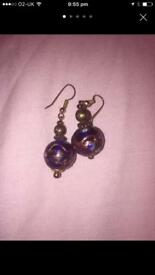 Beautiful hand made ear rings