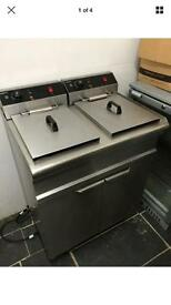 Electric double chips Fryer