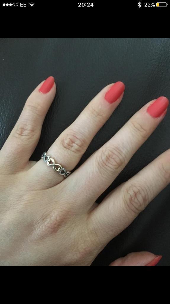 Pandora infinity love ring