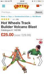 Hot wheels volcano blast