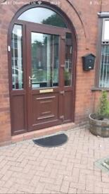 PVC door and arch frame