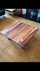 Vintage retro rosewood coffee table by Pieff