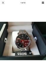 Hugo boss watch + box 100% genuine 1512446 BNWT + warranty
