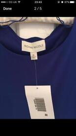 Ronni Nicole Cold Shoulder dress
