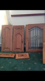Solid oak doors ready to shabby chic