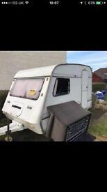 Compass caravan for spares or camper conversion.