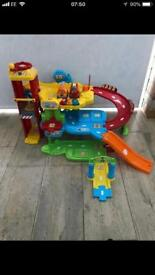 Vtech toot toot car garage
