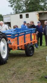 Donkey/horse cart suitable for tractor (Massey ford fordson)