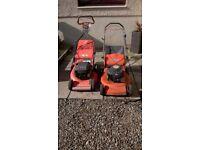 husqvarna petrol lawnmowers