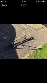 Free bike roof rack