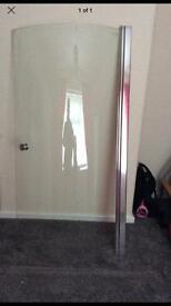 Curved Glass Shower Screen - Brand New