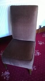 OLD BROWN CHAIR, RETRO CHAIR, LOUNGE CHAIR In clean condition from a non smoking household