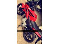 Honda CBF 2009 125cc Red