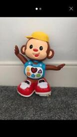 Chase me Casey - dancing and singing/learning monkey