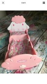 Baby Annabelle dolls bed