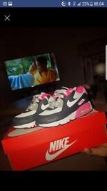 Pink air max kids size 13