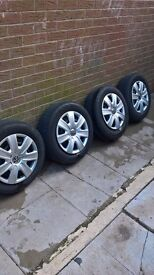 4 x tyres and rims and trims