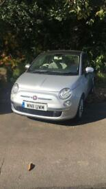 2011 Fiat 500 1.2 Lounge Stop/Start ONO MUST GO