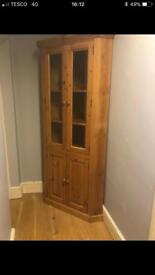 Lovely pine corner unit in great condition