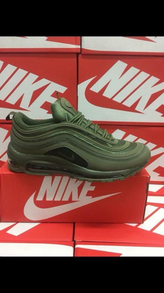8613f0ae18c06f Nike Air Max 97s New In Box reduced 97 trainers khaki green