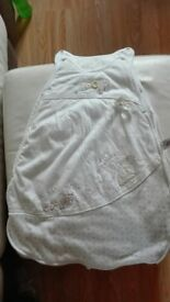 Baby sleeping bag for 0-6 months. Winnie the Pooh, great condition. £2