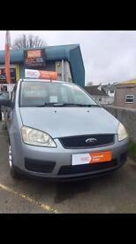 Ford c max 2004 petrol Manual 1.8 99k rac warranty finance no deposit