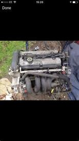 Ford Fiesta zetec s mk 5 engine,£130
