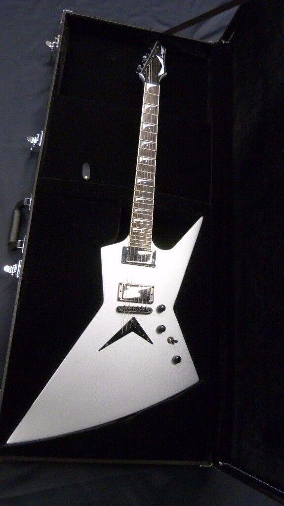 Dean Dave Mustaine Zero Silver AS NEW inc Dean Case