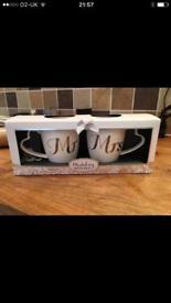 Set wedding cups