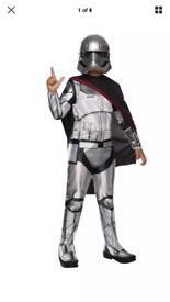 New stormtrooper fancy dress age 5-6