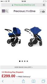 Brand new ickle bubba stomp v2 2in1 pushchair, and carrycot