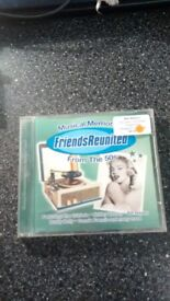 VARIOUS ARTISTS – FRIEND'S REUNITED – MUSICAL MEMORIES FROM THE 50's – CD