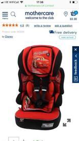 Lightening McQueen car seat