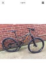 On One Codeine full suspension size medium mountain bike