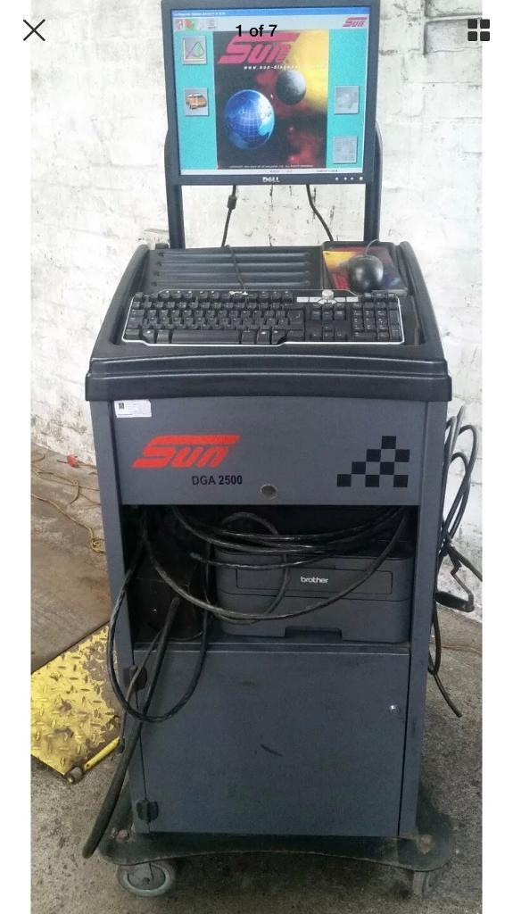 Snap on / sun mot emissions tester