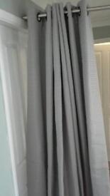 Eyelet curtains 90x72