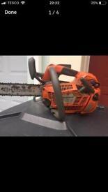 Husqvarna top handle chainsaw