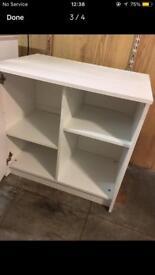 Argos white cabinet