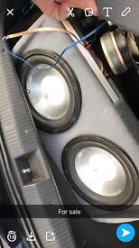 "2 x 12"" fli subs and amp"