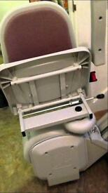 Acorn stairlift left hand side with fitting
