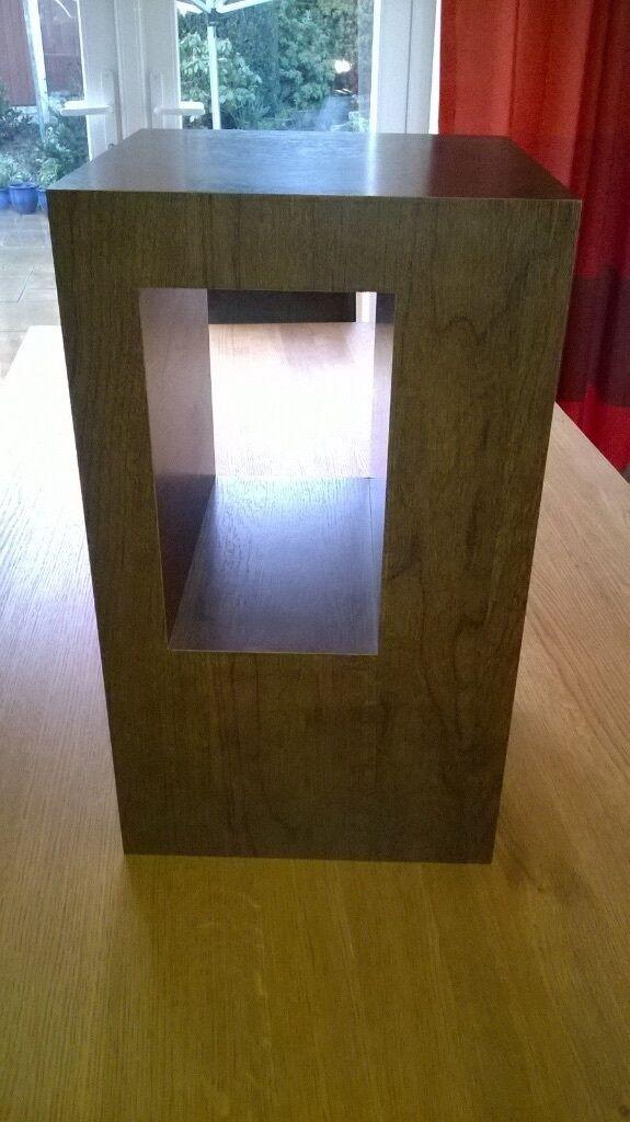 NEXT Dakota Mango Wood Cube art plinth Shelf Unit Dark  : 86 from www.gumtree.com size 575 x 1024 jpeg 76kB