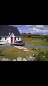 Beautiful family / holiday home near Dungloe Co. Donegal