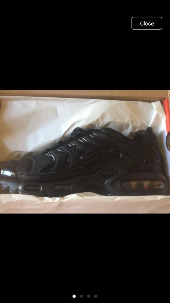 43c7199173 Nike tns AirMax Plus New In Box all black trainers | in Bulwell ...
