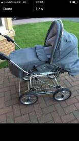 Churchill pram and buggy - Jan Stewart
