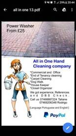 Cleaner, carpet, Windows..Office & Private home
